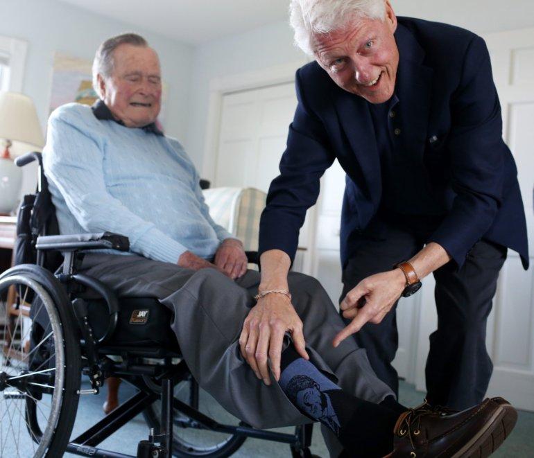 Bush Clinton socks.jpg