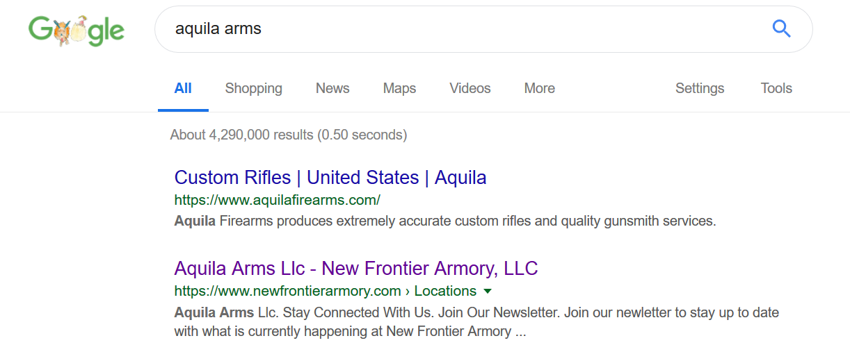 New Frontier has location called Aquila Arms.png