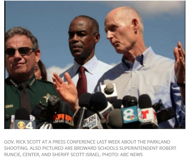 Parkland HS Joe Israel with Gov and Supt Schools.png