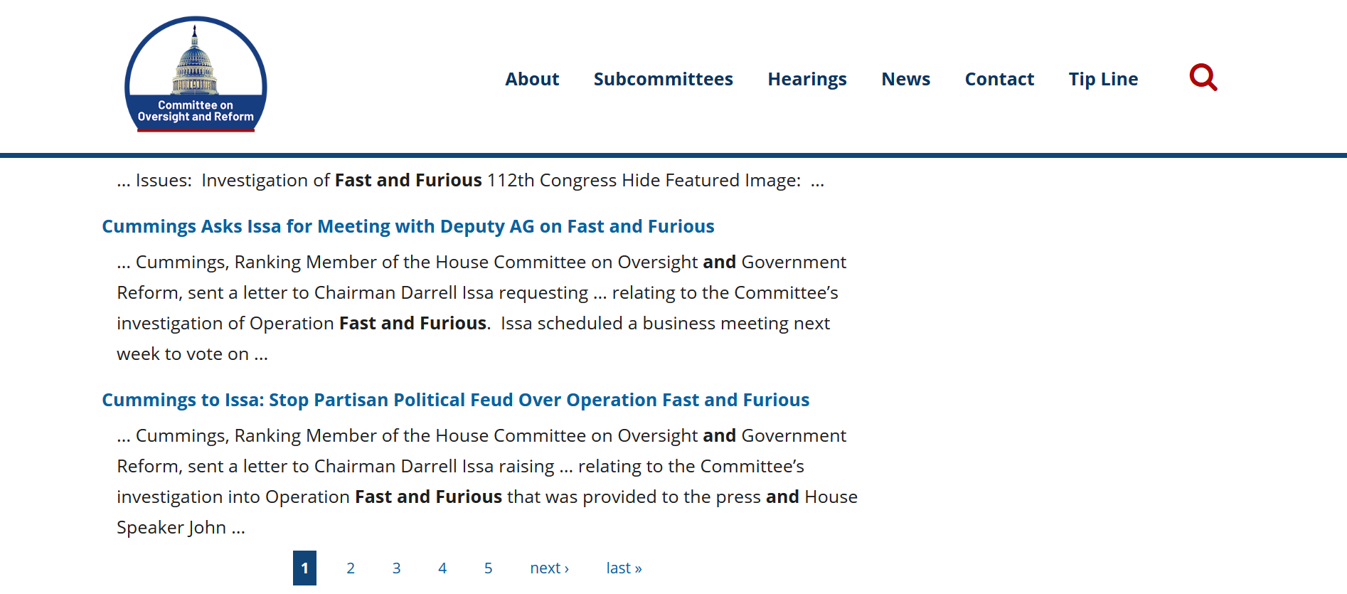 Blanco fast and furious congress oversight.png