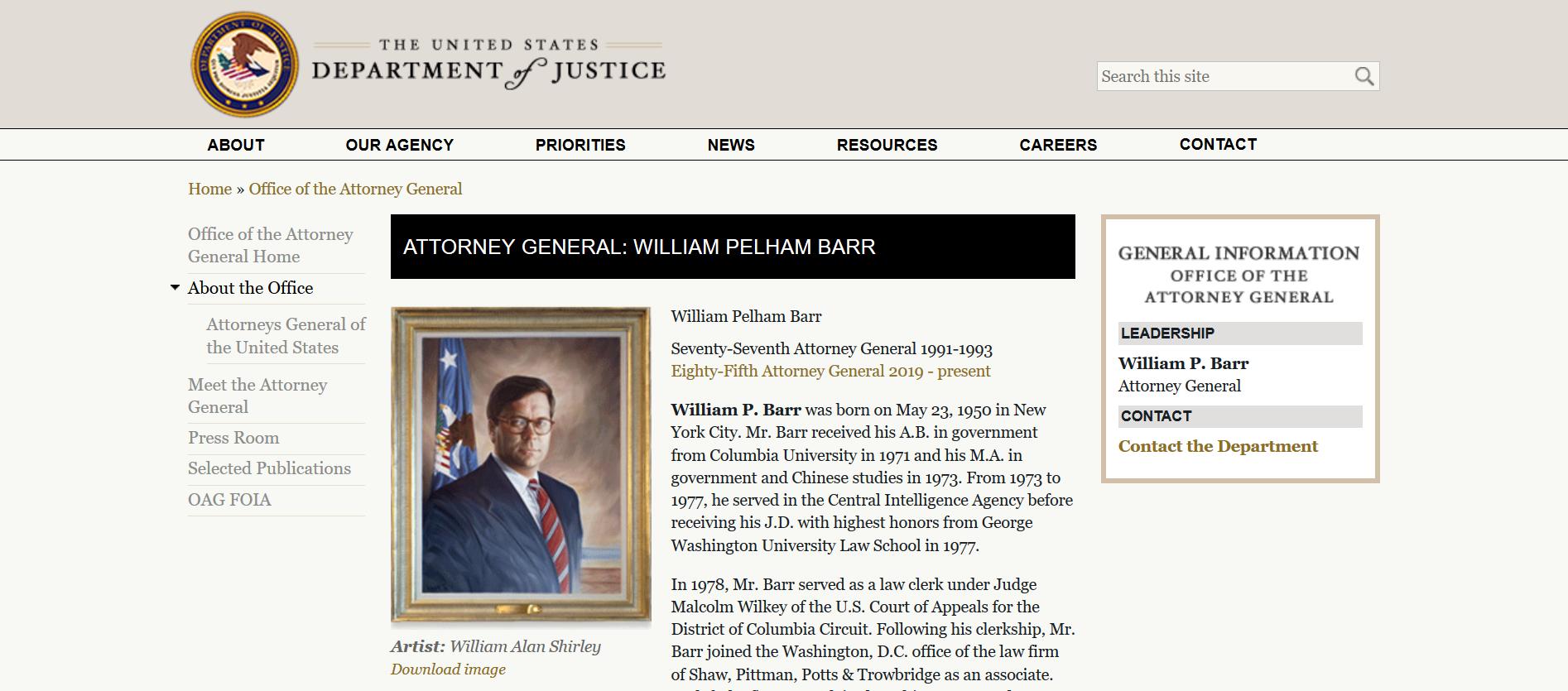 Barr DOJ press release second appt.png