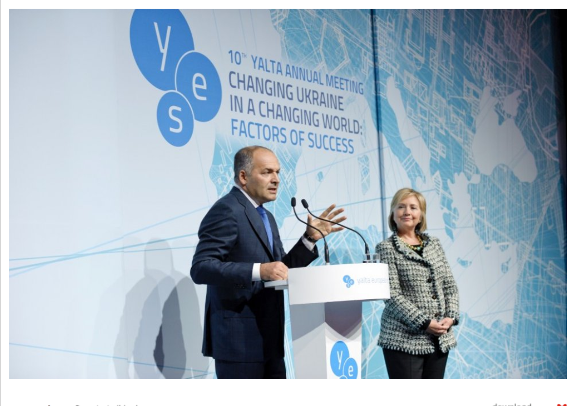 Pinchuk with Hillary.png