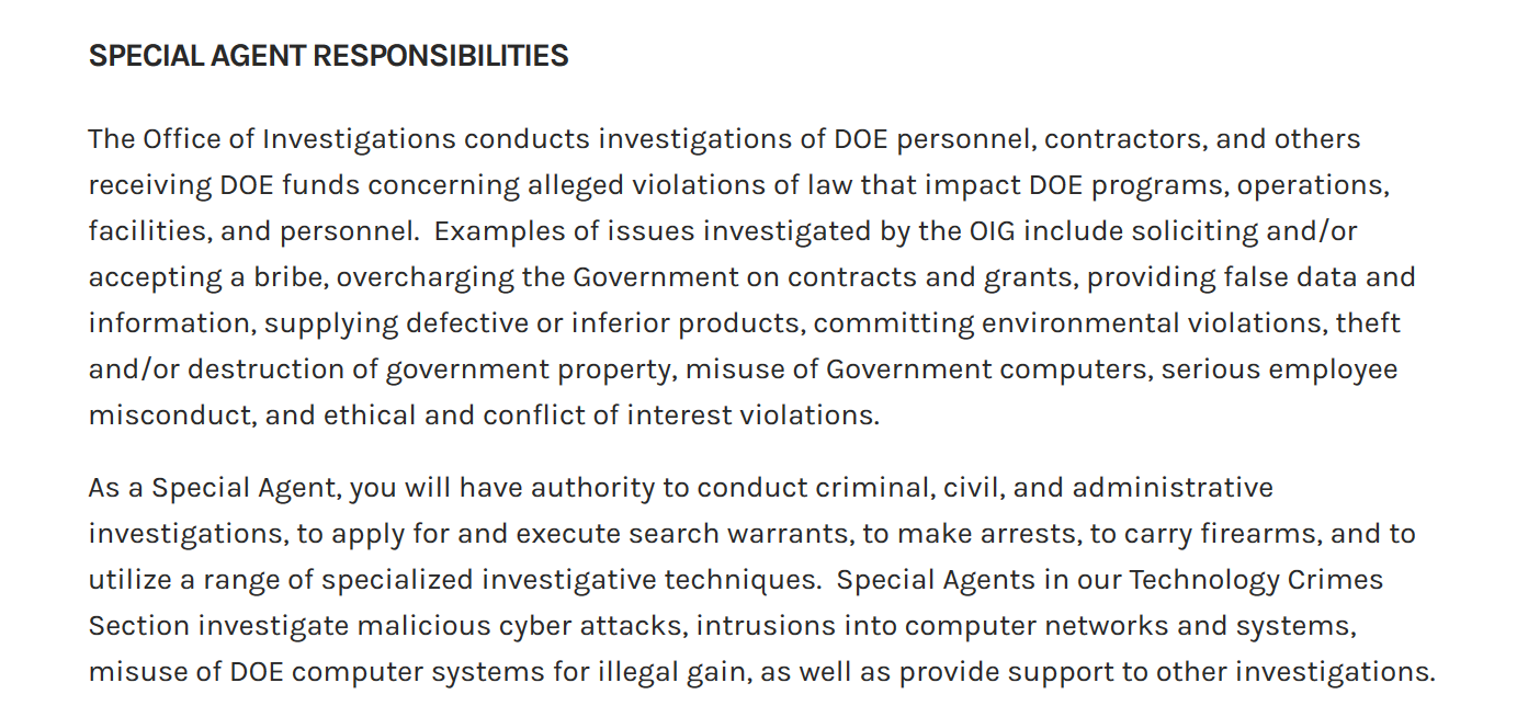 DOE Special Agentt job description.png