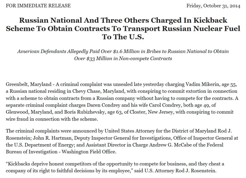 Uranium One co conspirators Bremen Ohio and Rubizhevsky Nexgen Security.png