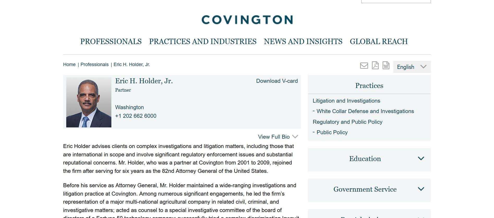 Holder Partner Covington and Burling.png