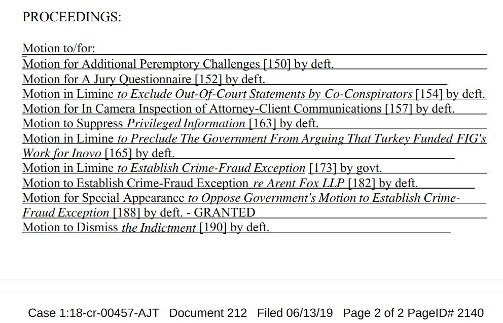 Screenshot_2019-06-16 Criminal Motion Minutes dated June 13th, 2019 in Bijan Rafiekian, Bijan Kian, Mike Flynn, Kamil Alpke[...].png