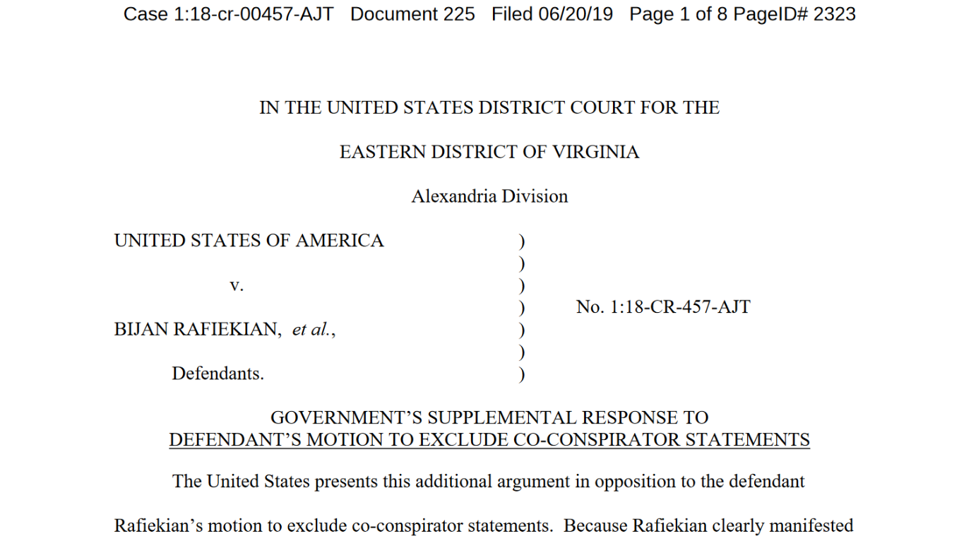Flynn will not testify if this motion is approved filed June 20th.png
