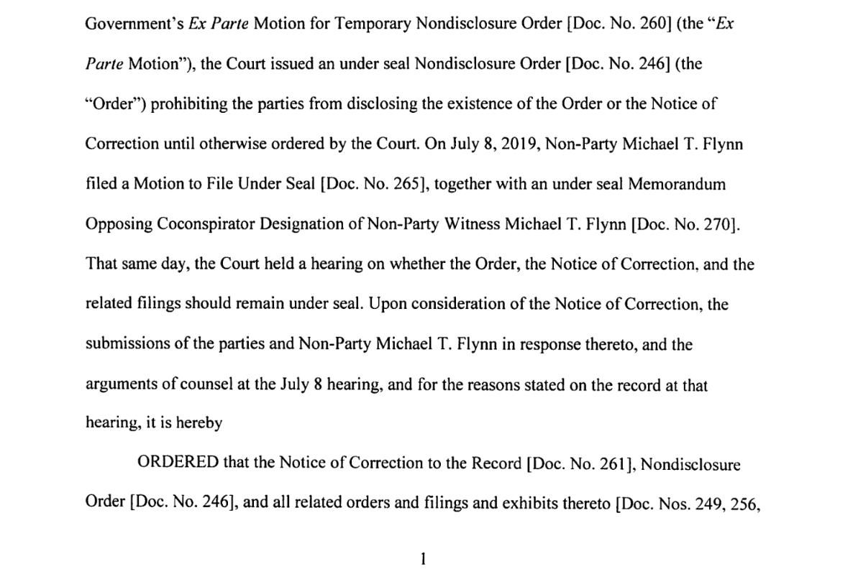 Trenga bottom half page one Flynn co conspirator ruing.png