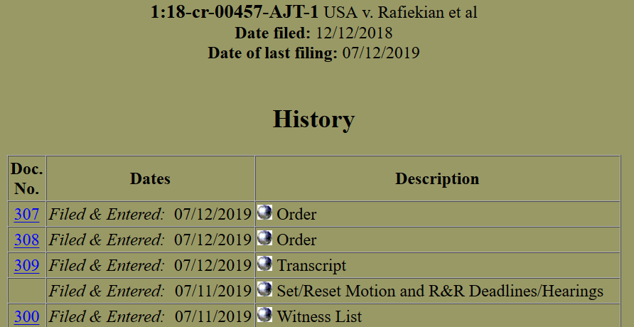 Kian docket brief dated July 12th.png