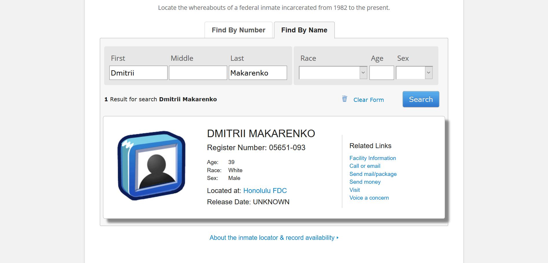 Makarenko BOE prisoner locator.png