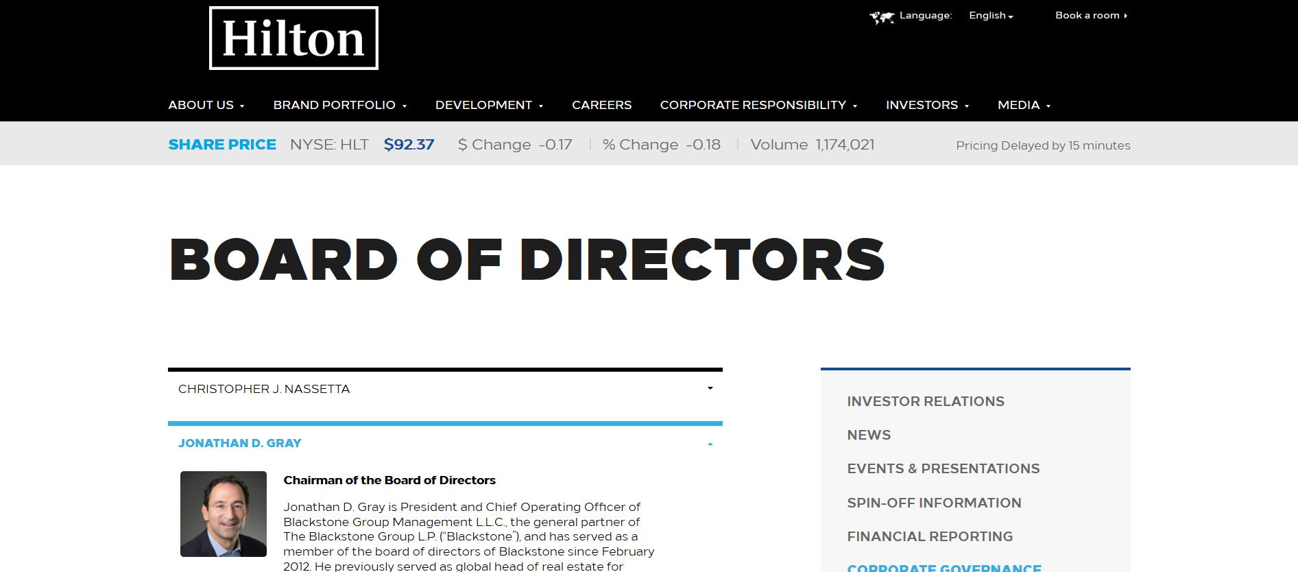 Hilton Bd of Directors Blackstone Group Jonathan Gray Chrm CFO.png