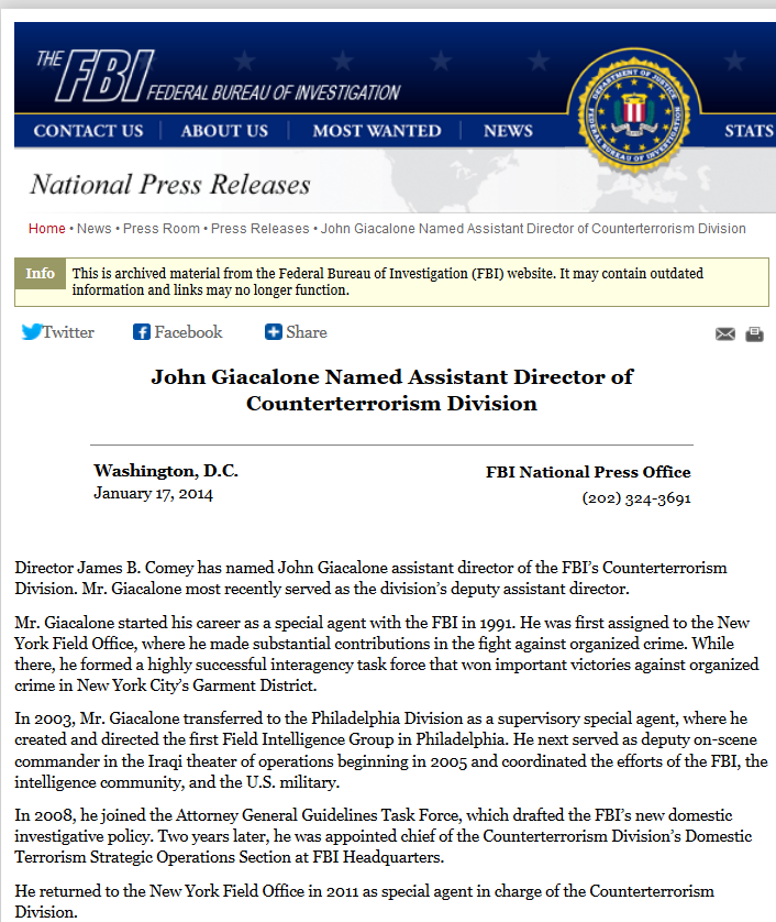 Giacalone FBI press release TWO Comey promoted Jan 17th 2014.png