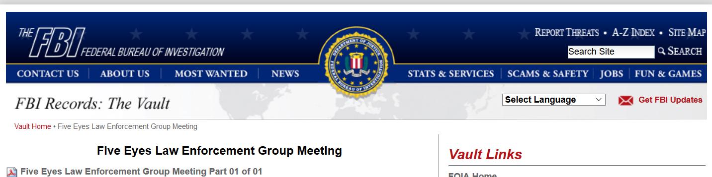 Five Eyes Law Enforcement Meeting Vault.png