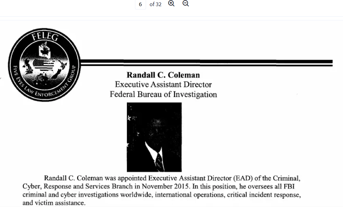 Coleman top panel resume Five Eyes June 2016.png