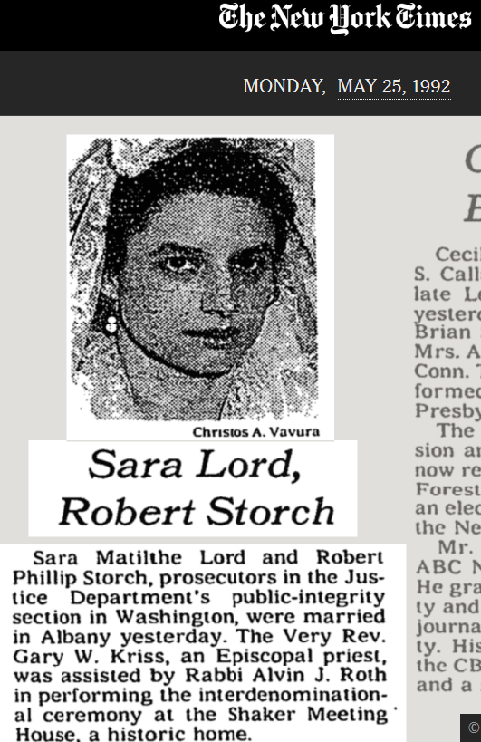 Storch her photo from 1992 frowning