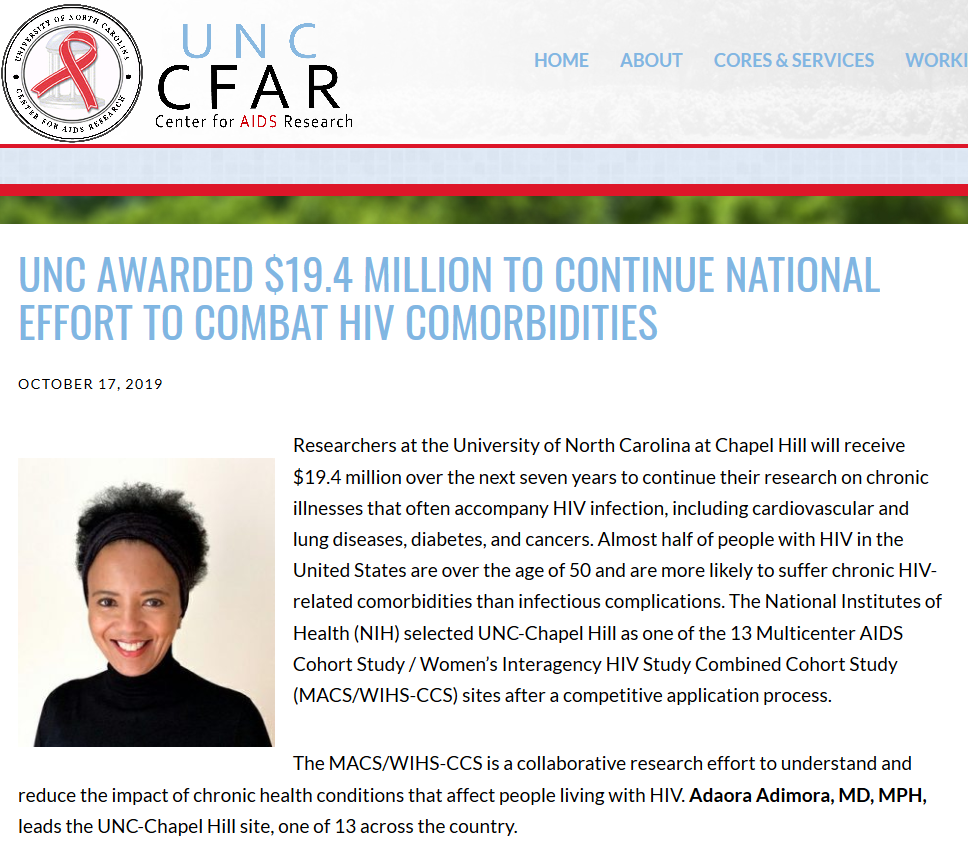 UNC HIV research article with Aunt Jamima.png