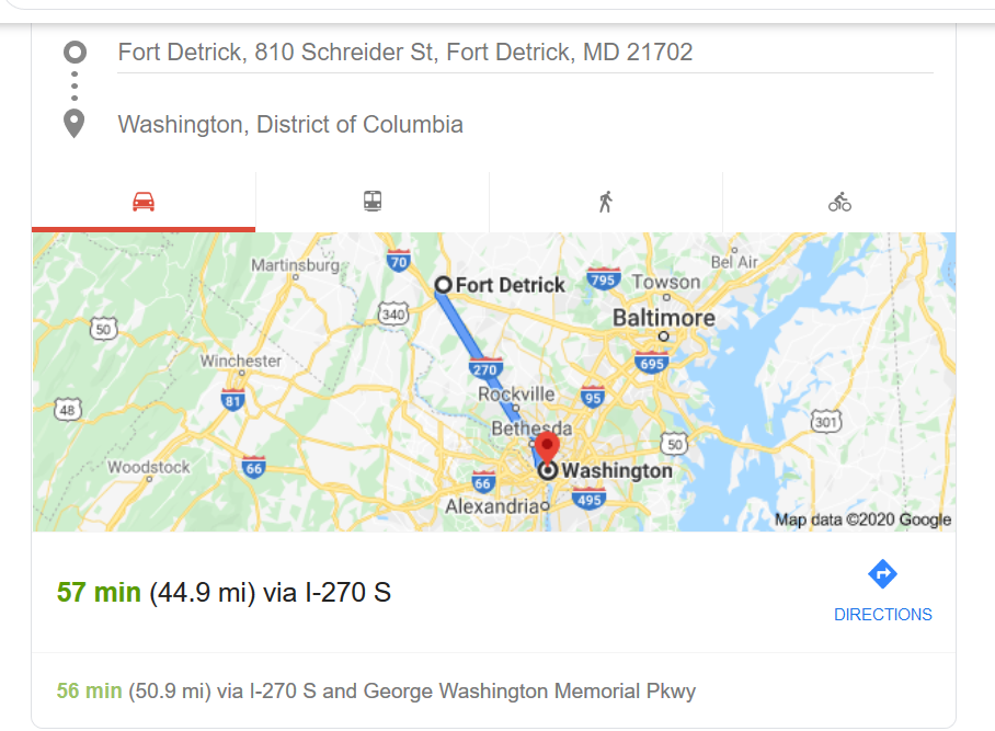 Ft Detrick map to DC image.png