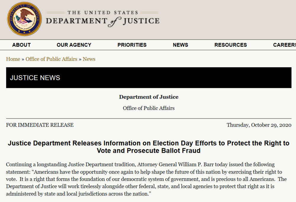 DOJ press release voting Oct. 29th.png