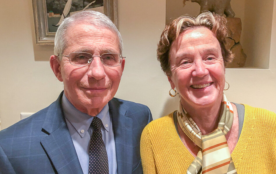 Dr. Fauci's wife's secret plan to put psych drugs in drinking water