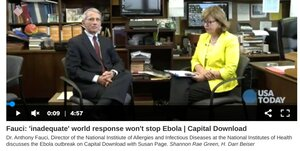 Biden welcomes back Ebola
