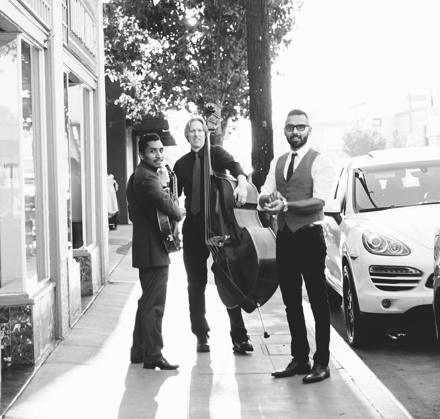 Photographer: Myra Kjer Photography  Musicians: Emilio Tello, Eddie Joe Vieyra, Sam Montooth  Location: 4th Street Vine, Long Beach, California