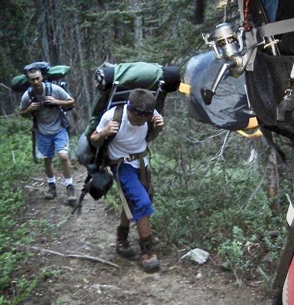 My husband took Matt and his friends on an annual backpacking trip into the North Cascades. I can see now how much he learned from these experiences.
