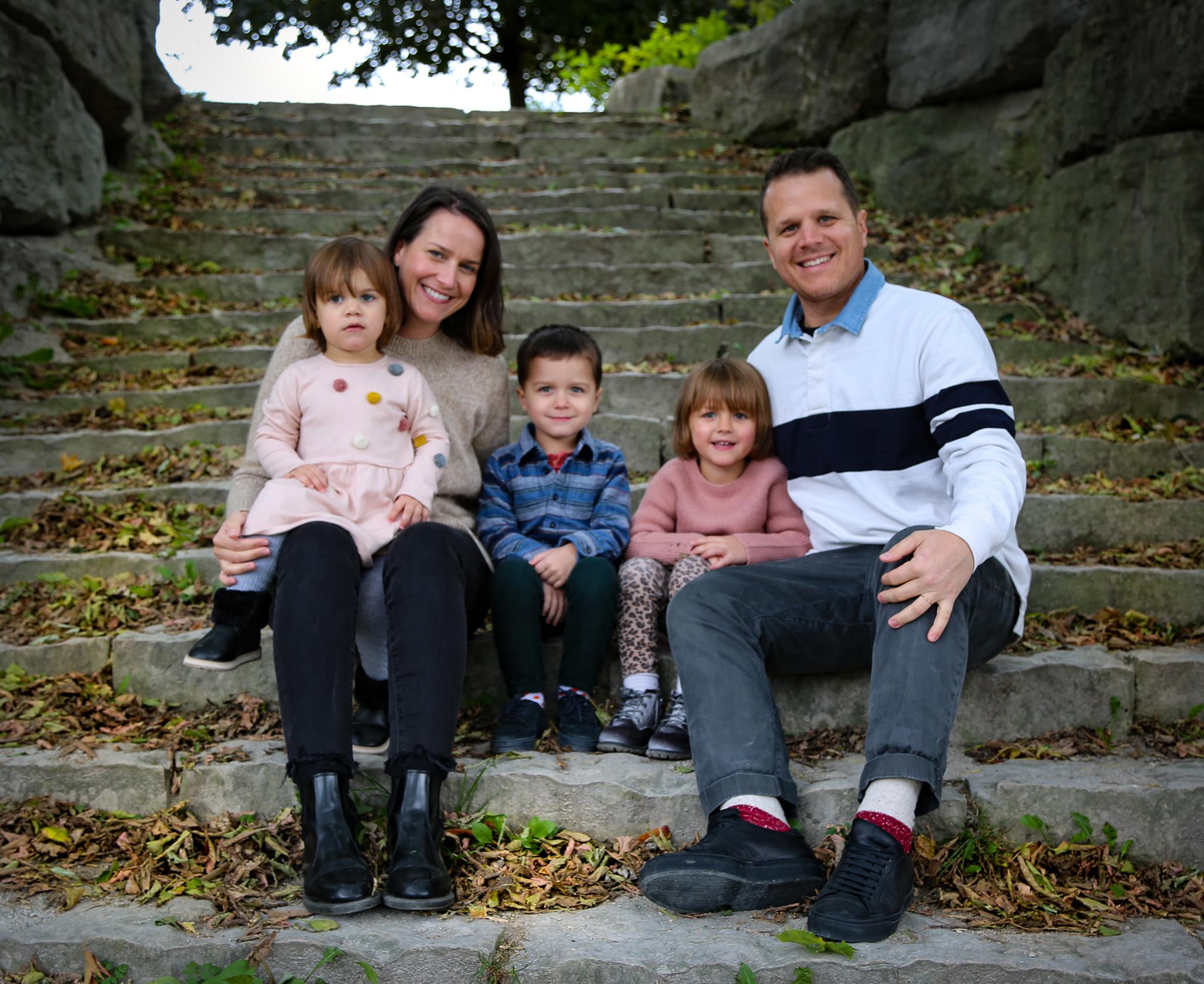Colacci Family 1, Laura, Luna, Milo, Serafina and Carlo.jpg