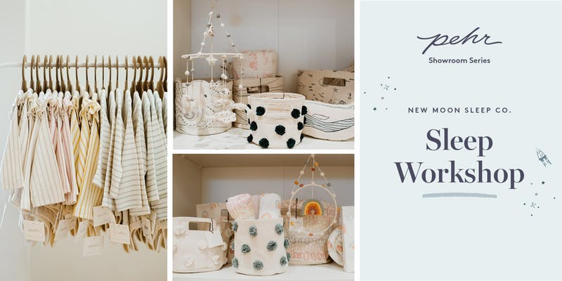 New Moon Sleep Co. x PEHR Presents    Ready for Routine: How to create positive associations around sleep and get your baby on a sleep schedule.    Date: Wednesday August 7, 2019    10:30-11:30am     Pehr, 320 Davenport Road, Suite 300, Toronto, ON M5R 1K6    Event cost: FREE    Visit:     https://www.eventbrite.com/e/new-moon-co-sleep-workshop-tickets-66693037671?aff=ebdssbdestsearch    to register.