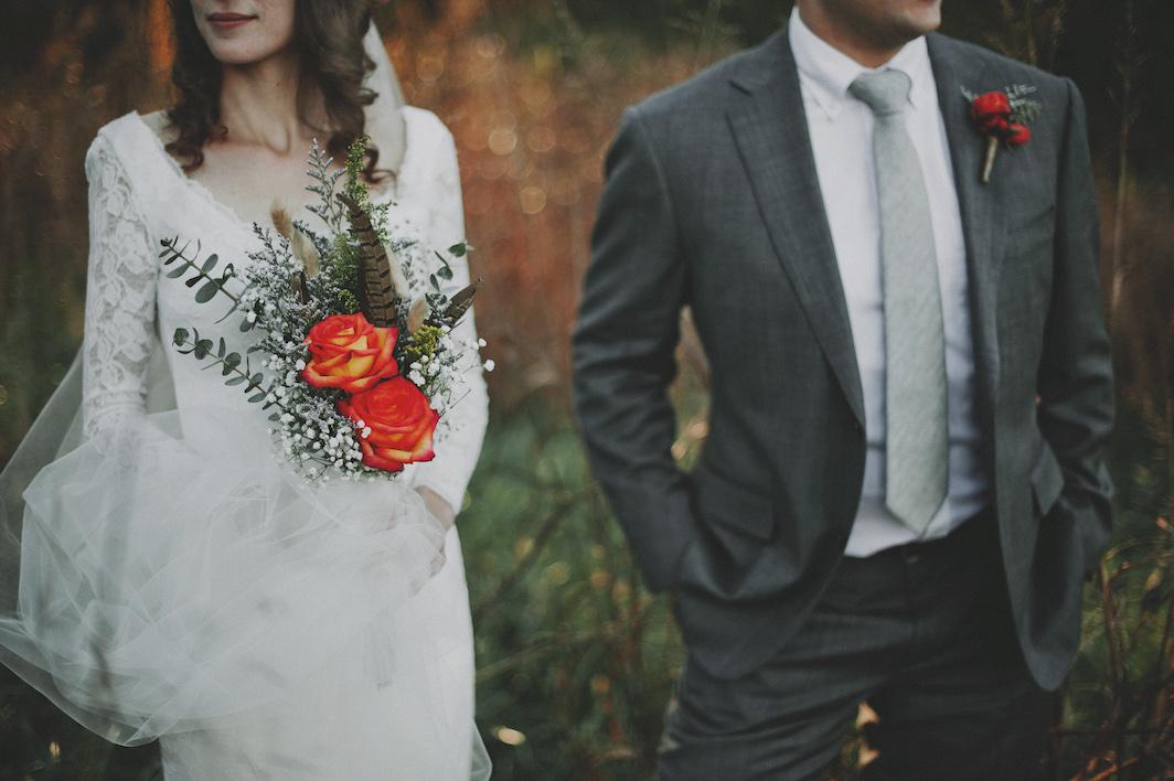 """Mitchell + Lowery"" - A Sykes Farm Retreat wedding in Chapel Hill, North Carolina. Photographed by Sassyfras Studios"