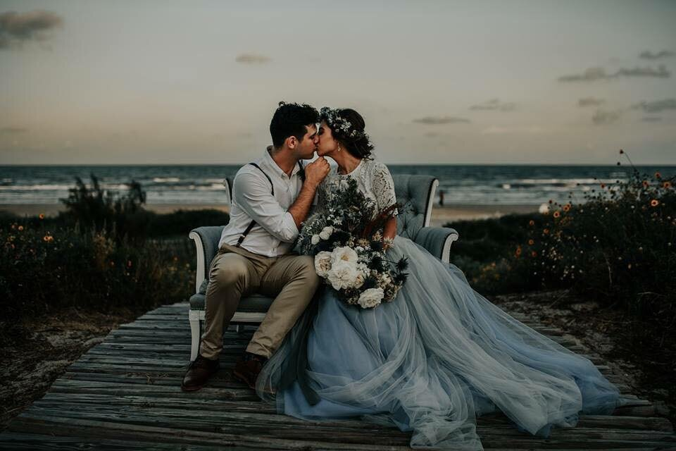 """Ocean Blue"" - A seaside elopement"