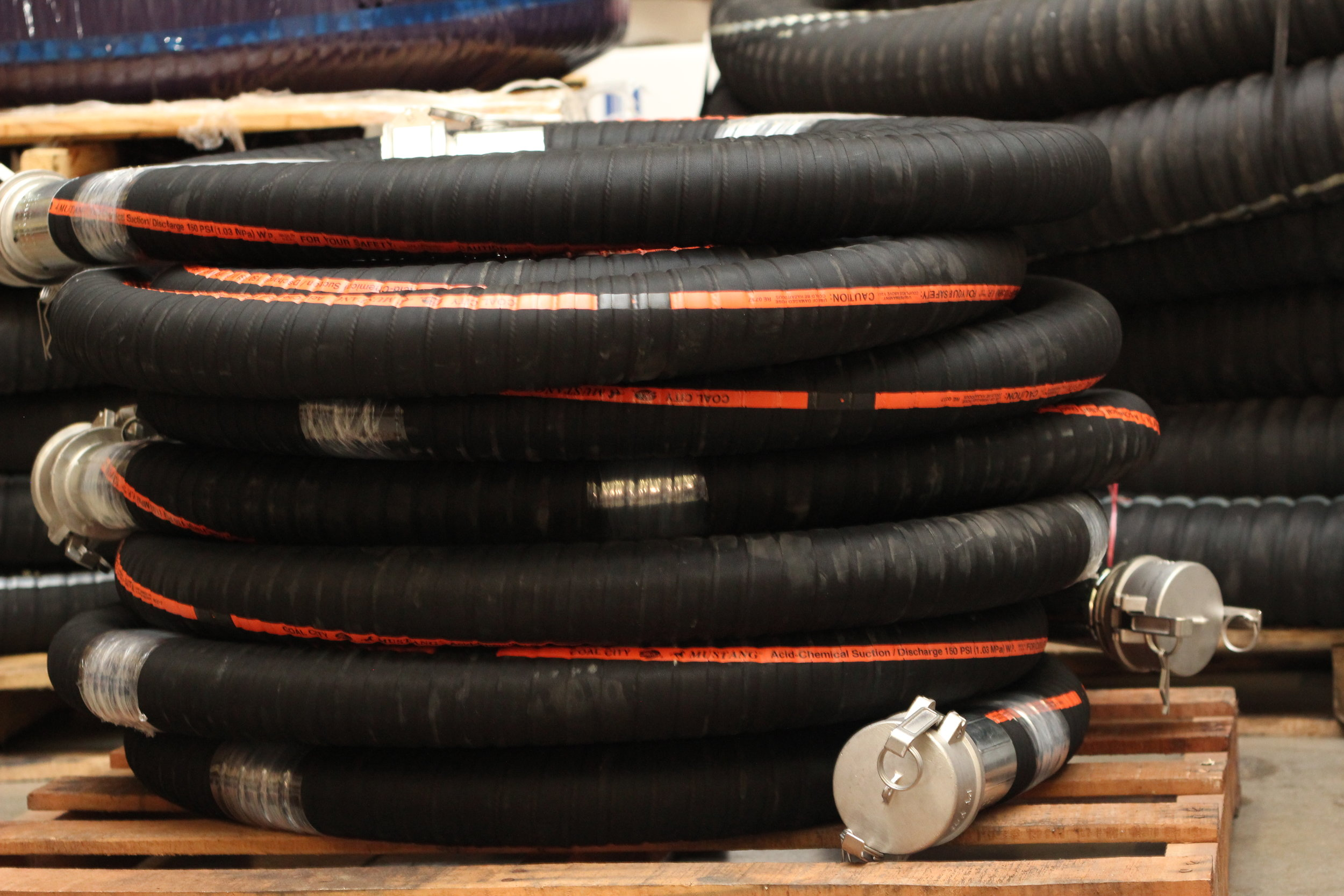 CUSTOM INDUSTRIAL HOSES