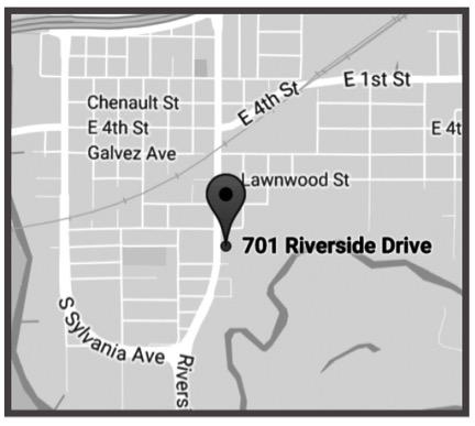 FORT WORTH - 701 Riverside DriveFort Worth, Texas 76111Ph: 817-332-5297Fx: 817-810-9129Metro: 817-654-2053