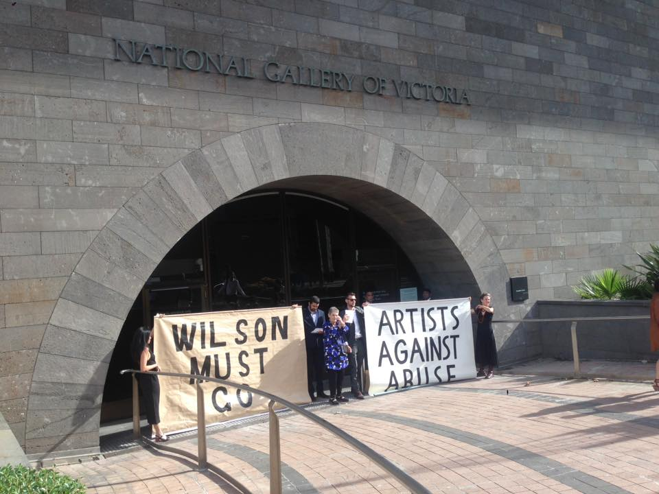 STATEMENT: BLOCKADE AT NGV TRIENNIAL VIP OPENING