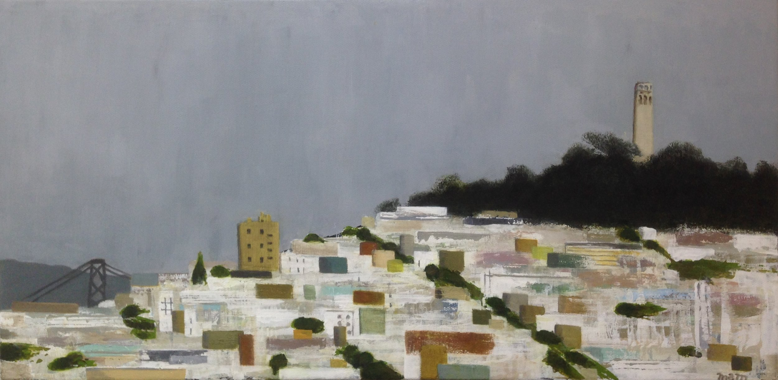 CITY | Telegraph Hill | 10x20 | $415   Go to CITY gallery