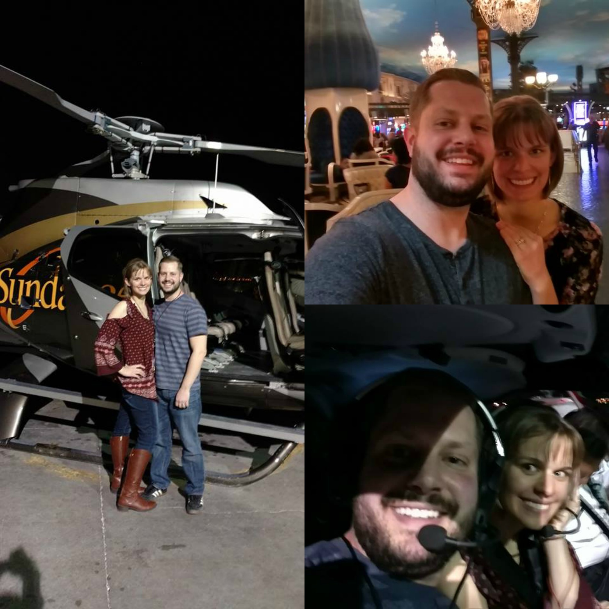 A few little snippets from our 3 nights in Vegas.