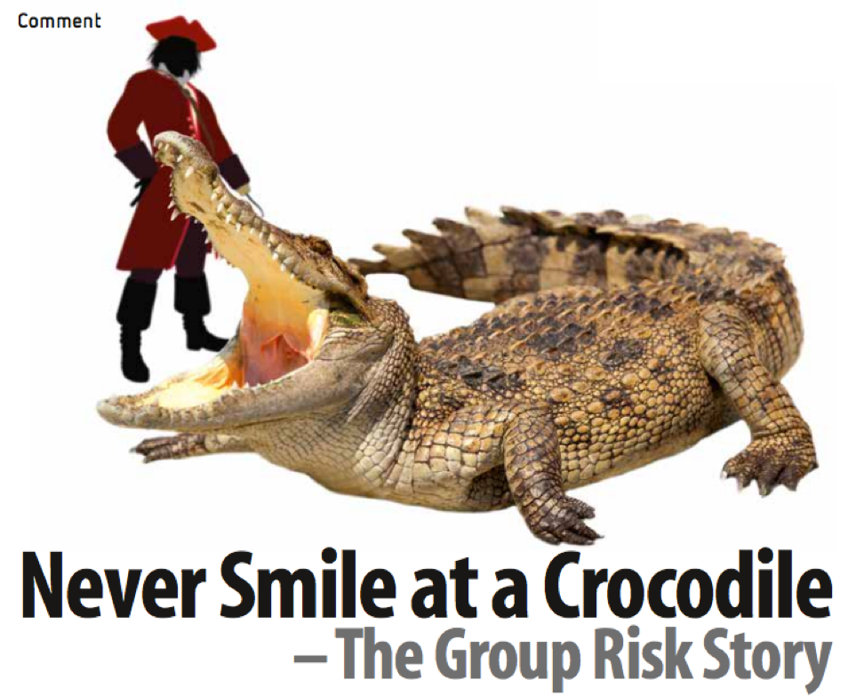 """Never smile at a crocodile - Actuaries Institute - Excerpt: 'Peter Pan, for those of us who remember or have watched the movie with our kids, opens with the line: """"All of this has happened before and all of it will happen again"""