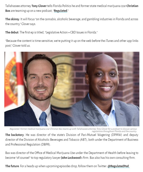Sunburn — FloridaPolitics.com 3.11.19