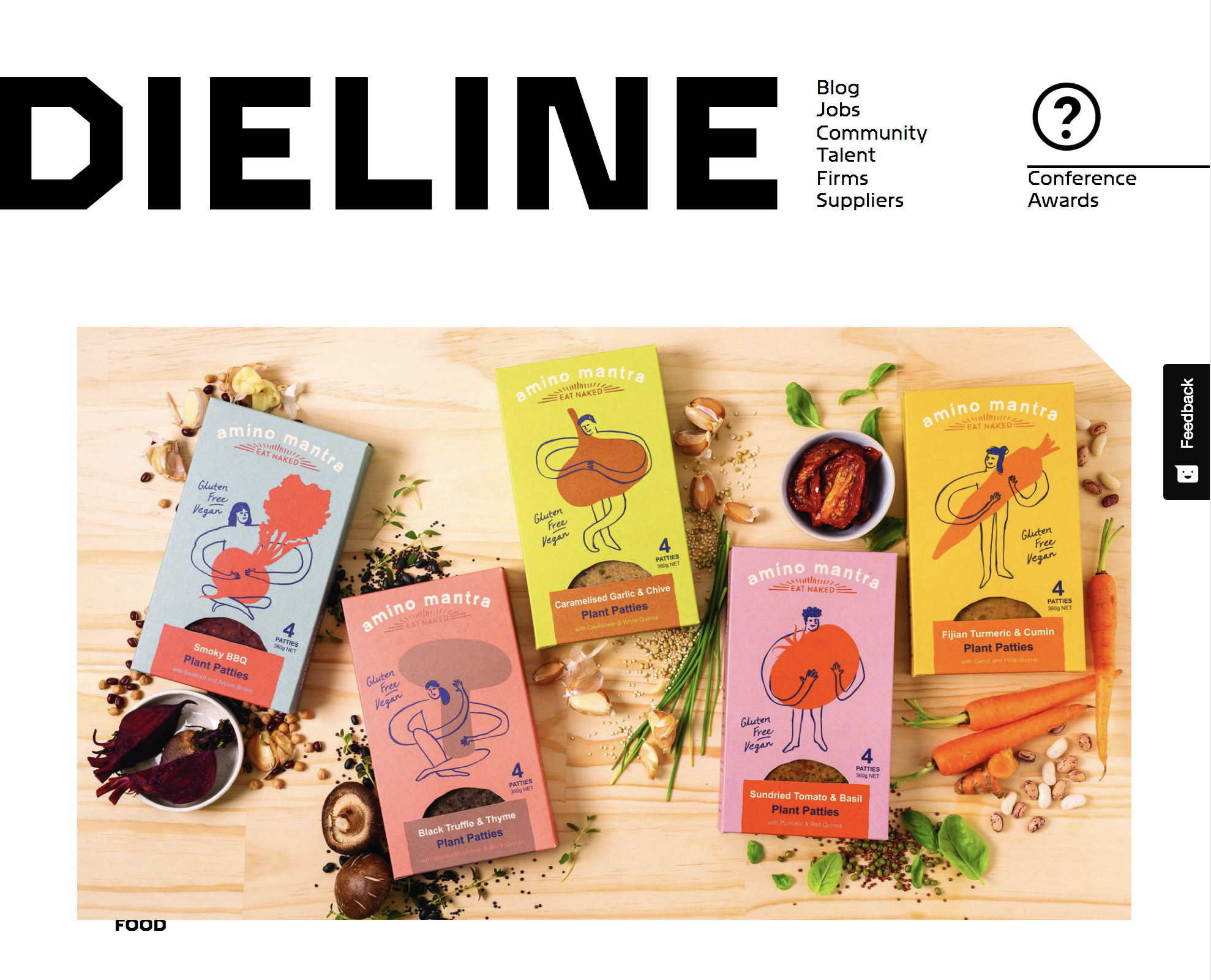 Amino Mantra on The Dieline