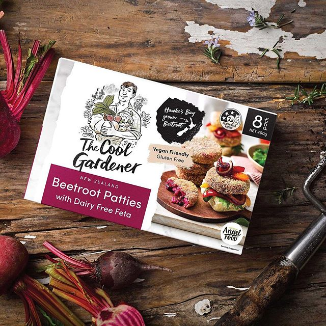 The Cool Gardener - A new range of FMCG frozen plant-based meals. Making vegan food accessible to the main stream market. Design by me for @curiousdesign_nz 🥦🍠🥬