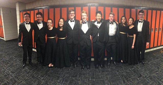 Congrats to all of the SEC all-conference @eastridgeband members who performed in the 32nd Annual SEC Music Festival tonight at White Bear Lake Area High School!! Pictured: Sam Soderberg, Zack Soderberg, Faith Goetzke, McCall Walker, Ryan Mitka, Mitchell Lejcher, Chris Lou, Michael Kennedy, Christine Severus, Stephanie Bai, and Michael May. Not pictured: Arsema Belau, Manny Green, Luke Laingen.