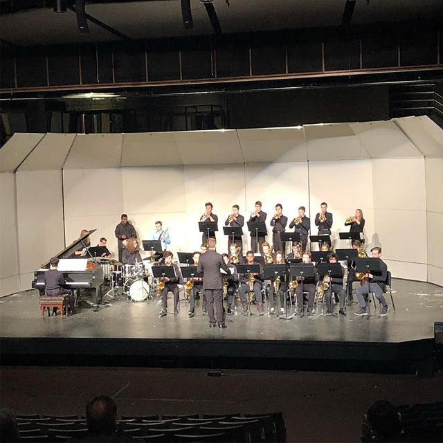 Congrats to Jazz I & II on great performances at MSHSL jazz contest this morning!