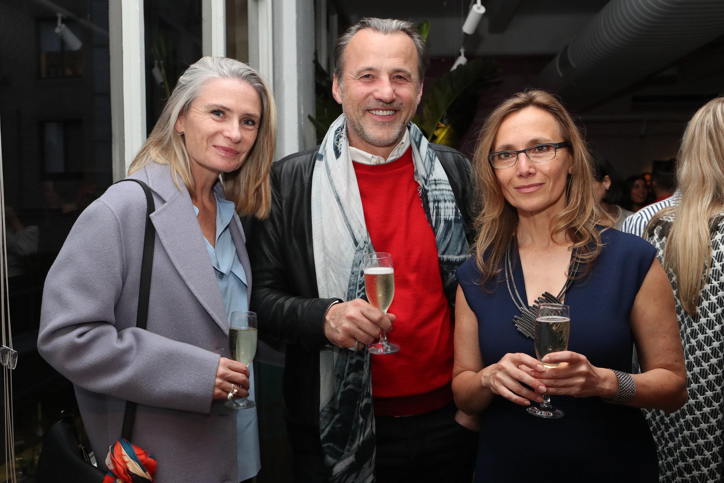 Maryane Shearer, Ned Radojcic and Ljiljana Gazevic (2).jpg