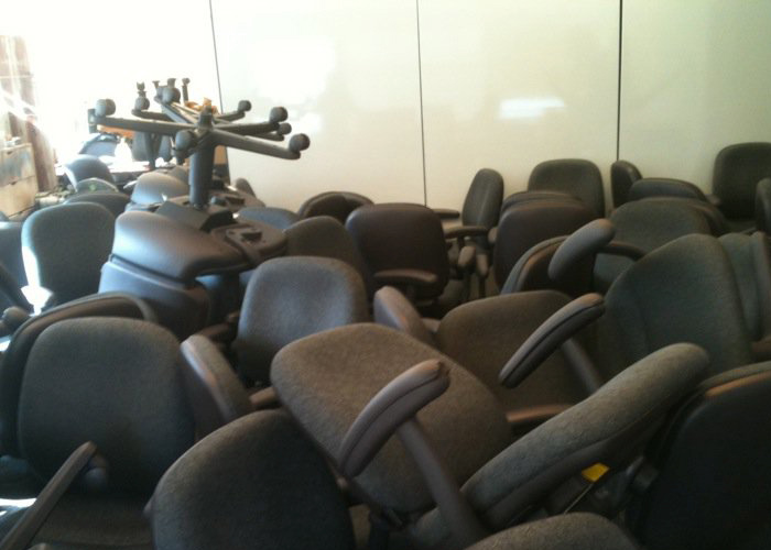 Office Chair Holocaust. – NYC