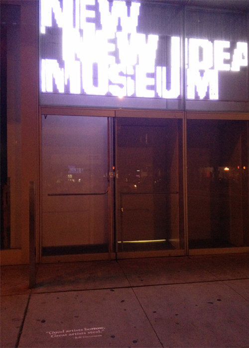 The New Museum, Lower East Side
