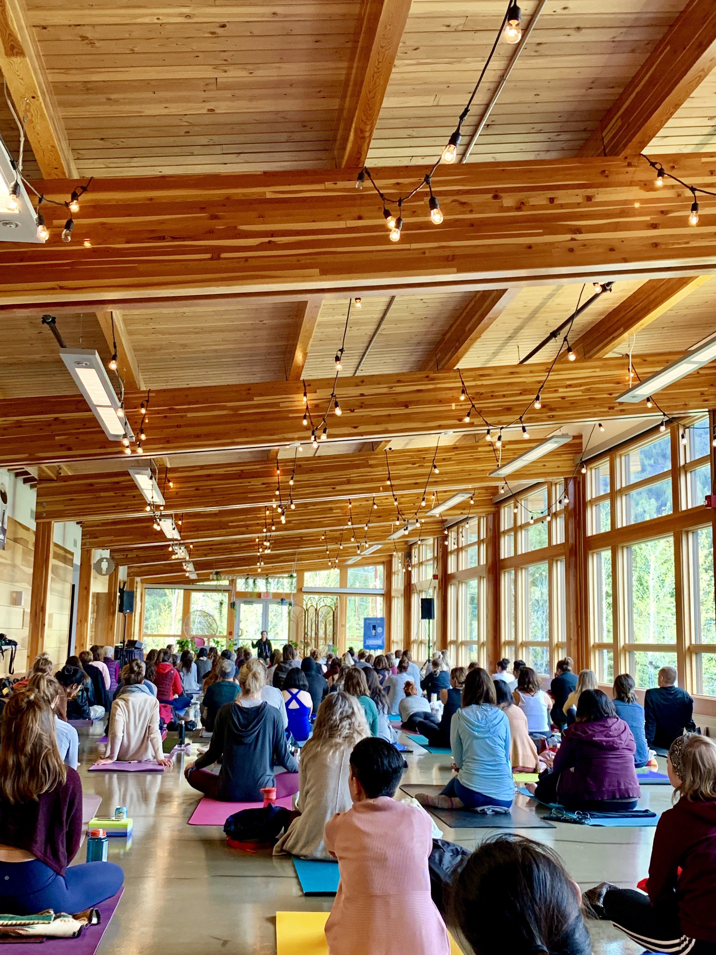 Arise with Stacey Irvine, May 25, 2019 - Banff Yoga festival