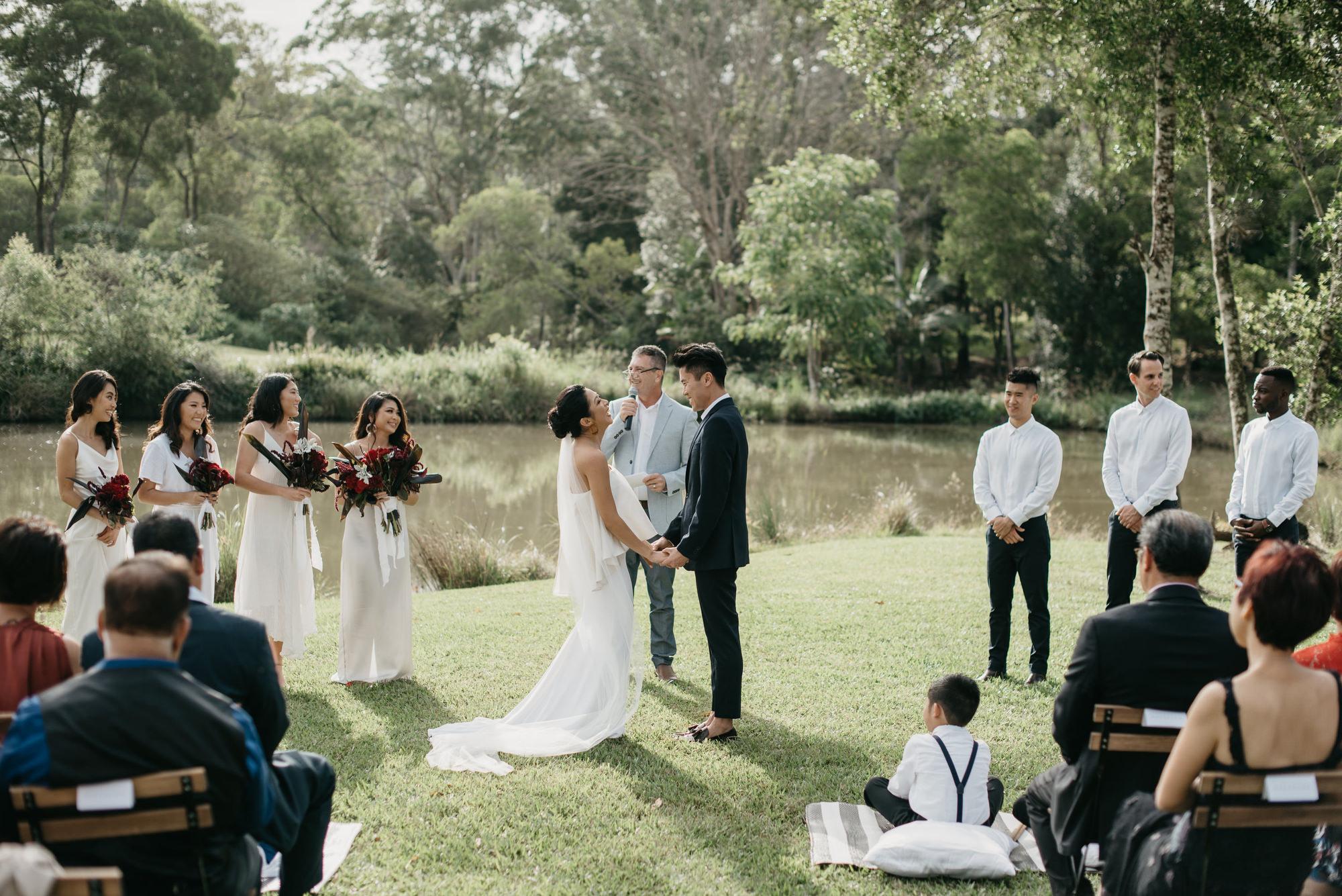 EPHEMERAL CREATIVE Falls Farm wedding Sunshine Coast couple