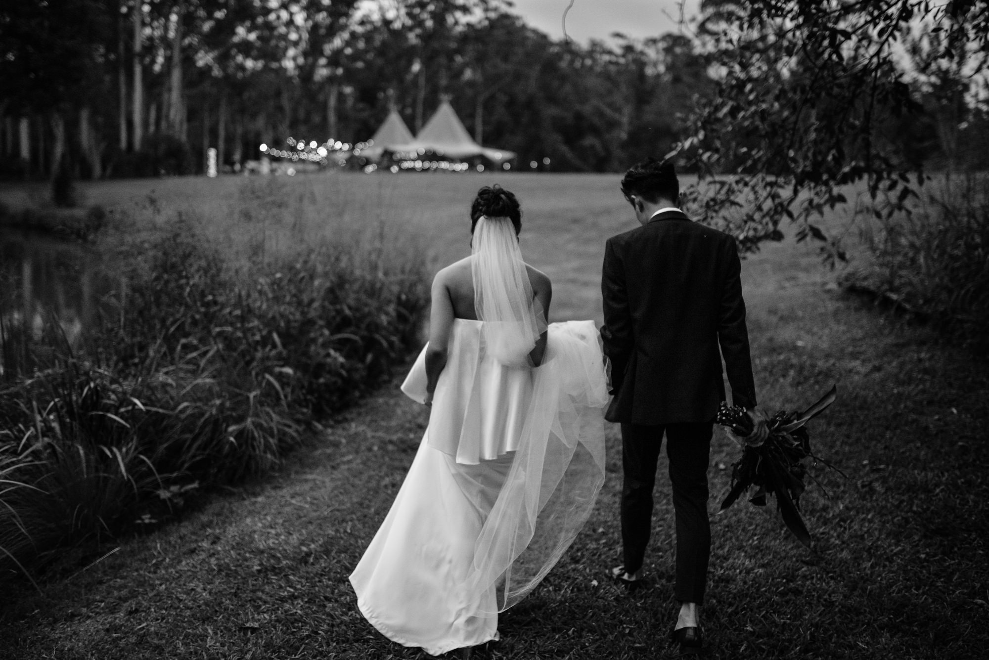 EPHEMERAL CREATIVE Falls Farm wedding Sunshine Coast with Tipi Luxe