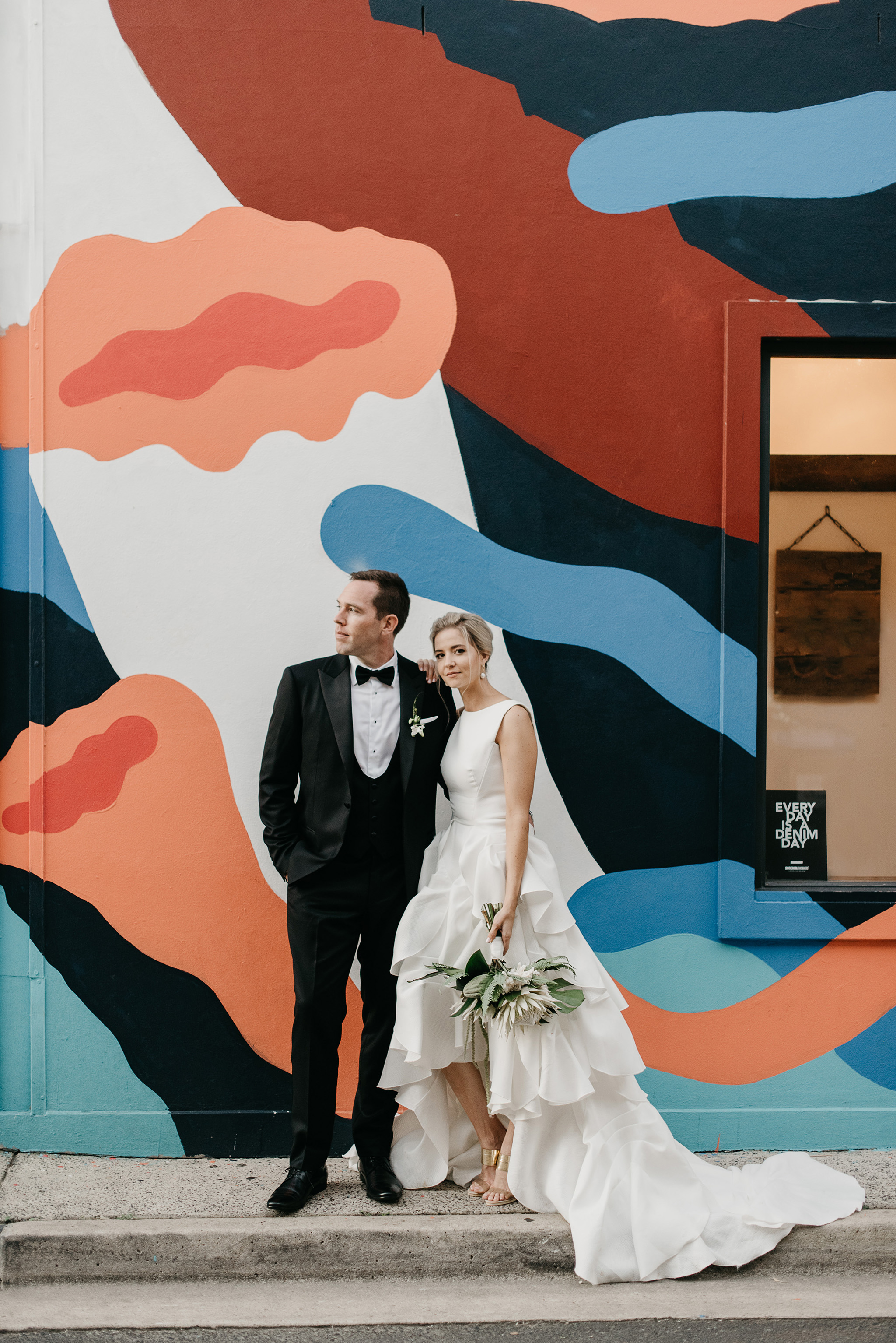 Daryl and Michael ephemeral creative Newrybar Downs Wedding