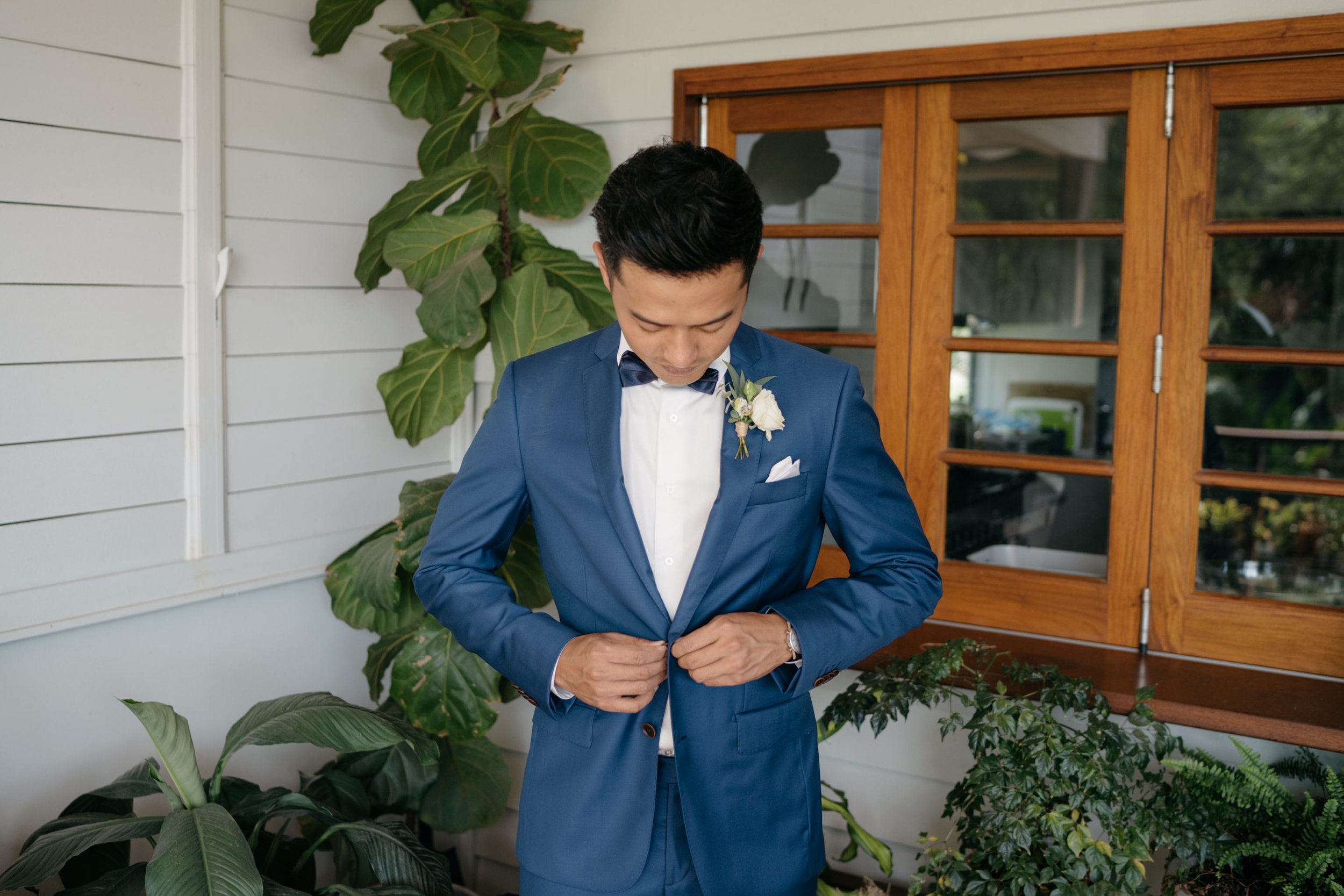 Groom, Brisbane Wedding, Ephemeral Creative