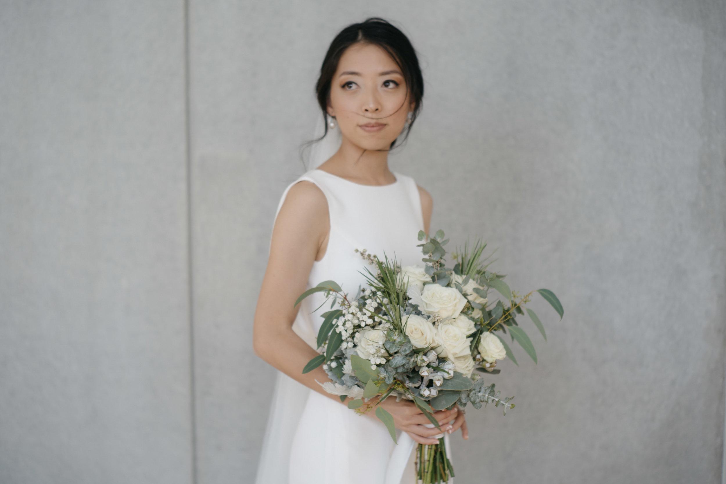 Bride portrait, The Calile Hotel, Brisbane Wedding, Ephemeral Creative